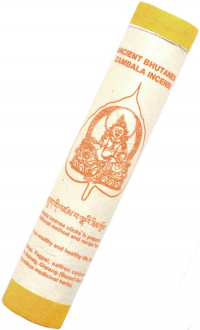 Ancient Bhutanese Zambala Incense (Древнее бутанское благовоние Дзамбала), 19 палочек по 18,5 см.